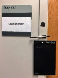 Clinical Sciences Center lactation room